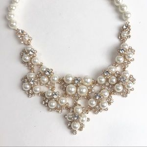Charter Club Gold Pearl Costume Necklace